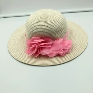 2a3c3f40 Mud Pie Accessories | White Bonnet Babys New With Tags | Poshmark